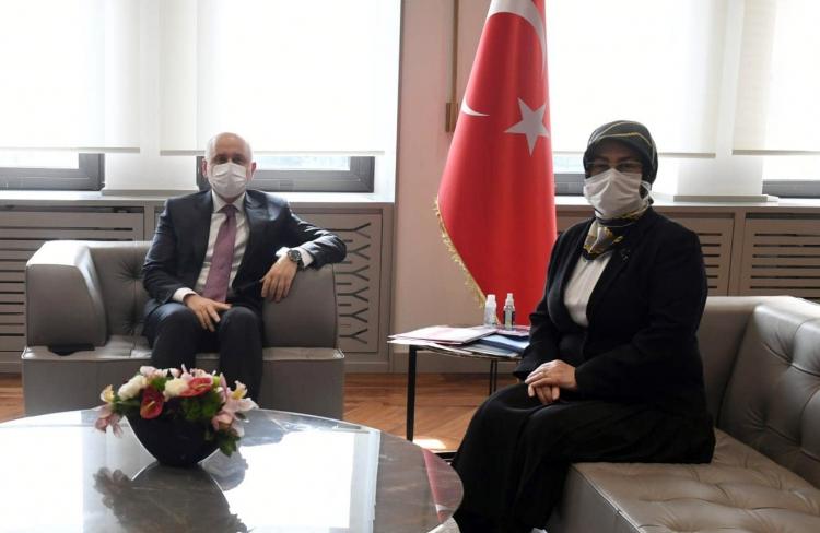 Akyol'dan Bakan Karaismailoğlu'na Ziyaret