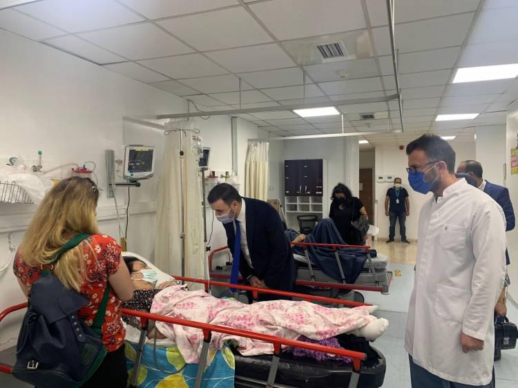 Bağatar Hastalara Acil Şifalar Diledi