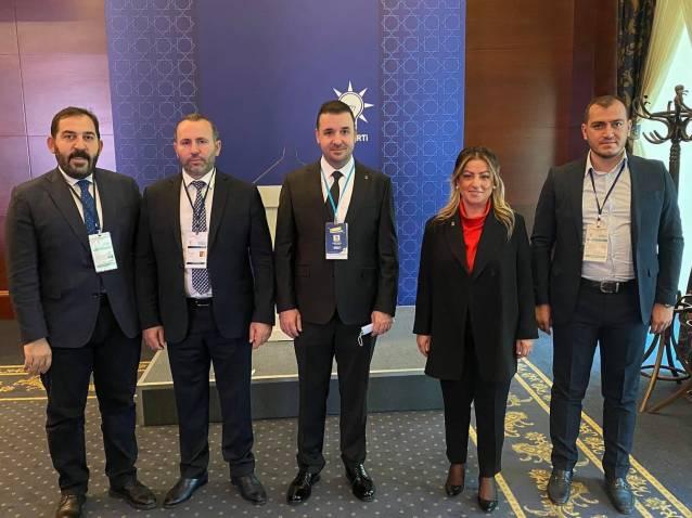 Bağatar İl Başkanları Toplantısına Katıldı