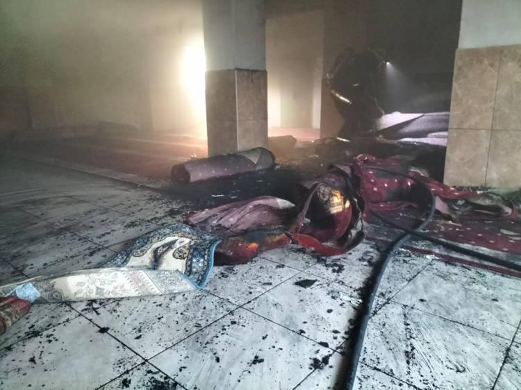 Camide Yangın Ucuz Atlatıldı