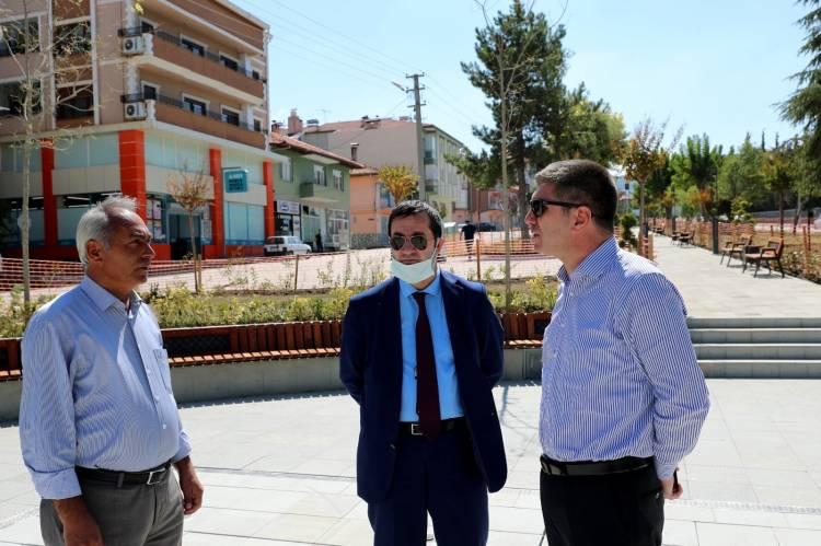 Canbay Burdur Belediyesi'nin Çalışmalarını İnceledi