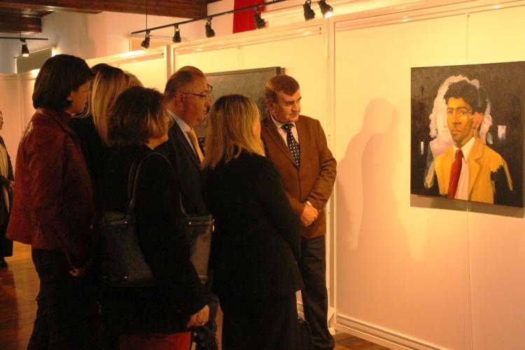 4. Uluslararası Yalova Resim Sempozyumu Sergisi Açıldı