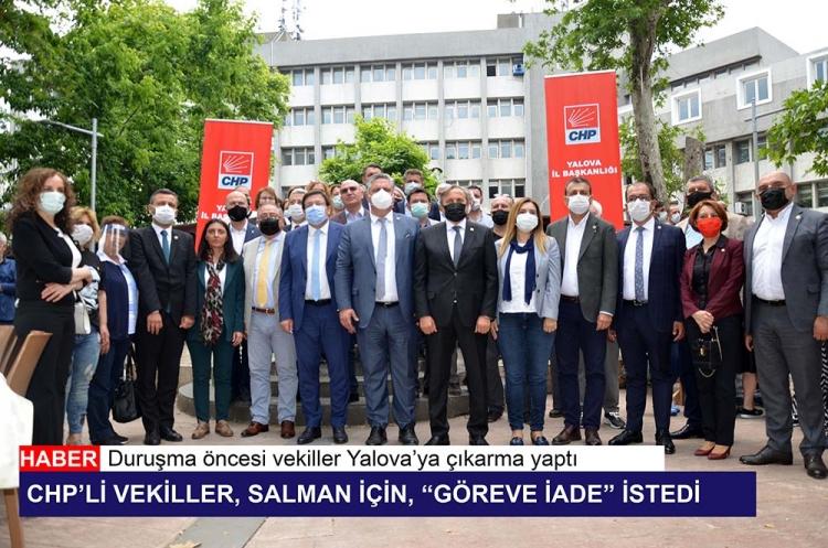 "CHP'li Vekiller, ""Göreve İade"" İstedi"