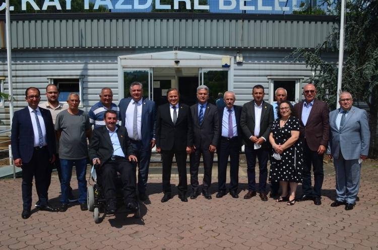 CHP'li Vekiller Kaytazdere'ye Çıkarma Yaptı