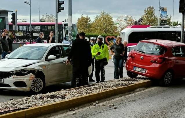 Kaza Ucuz Atlatıldı