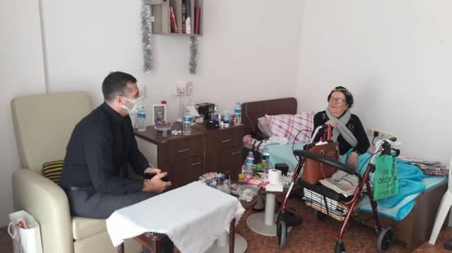 Laçin'den Yaşlılara Ziyaret