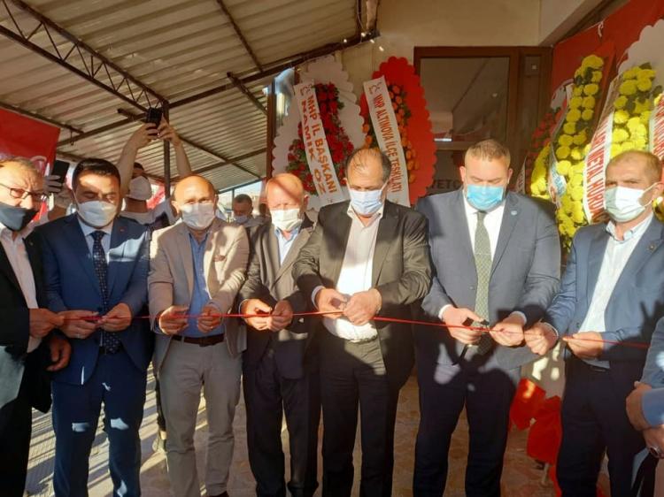 MHP Tavşanlı Teşkilatı Dualarla Hizmete Girdi
