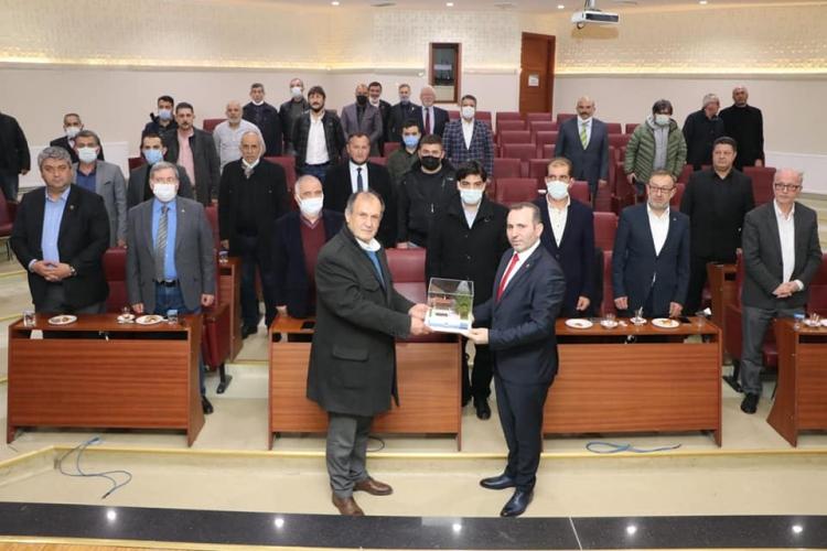 MHP Yönetiminden Tutuk'a Ziyaret