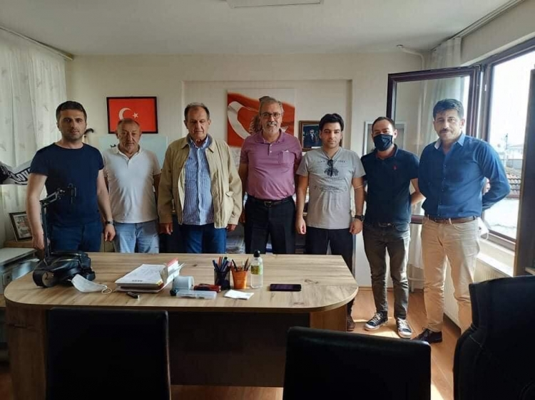 MHP'den ASEF'e Ziyaret