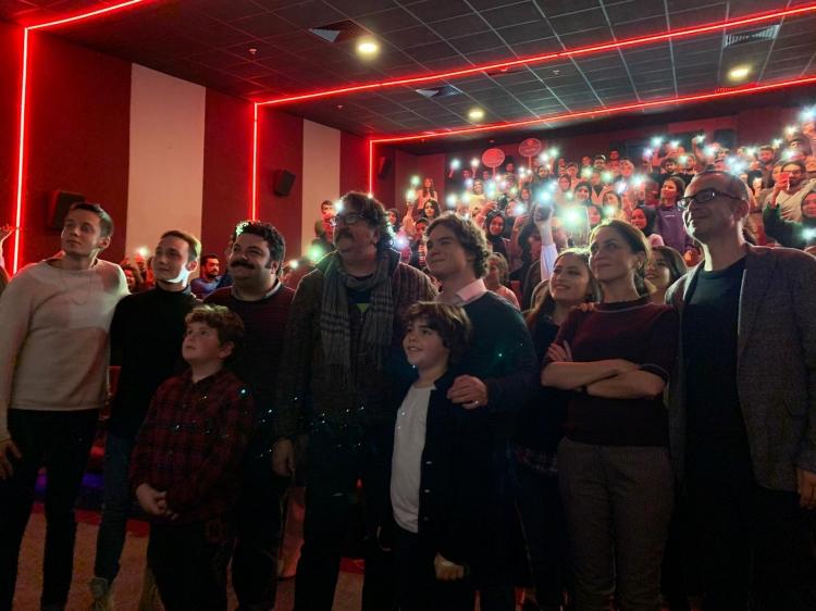Naim Filminin Galası Yalova'da Yapıldı