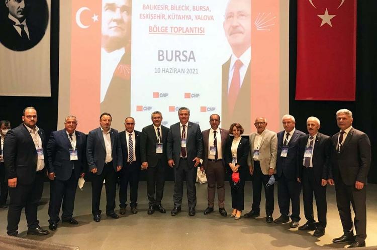 Salıcı, CHP Yalova Teşkilatı İle Buluştu