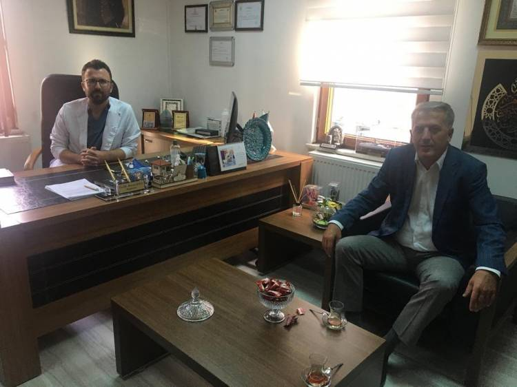 Şener'den Hacı'ya Ziyaret