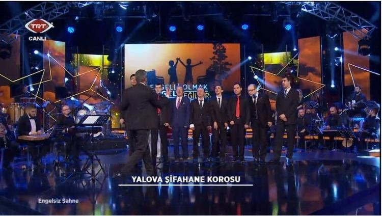 Şifahane Korosu TRT'de Sahne Aldı
