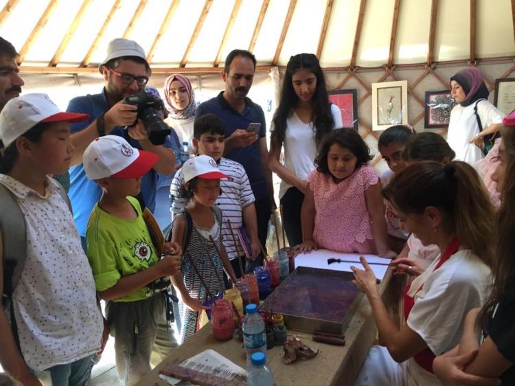 Suna Koçal Ahlat-Avrasya Festivaline Katıldı