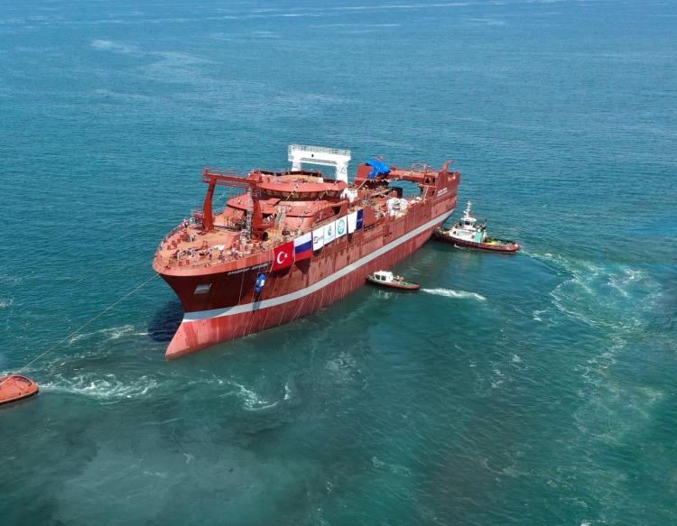 Tersan'dan Rusya'ya Balıkçı Gemisi