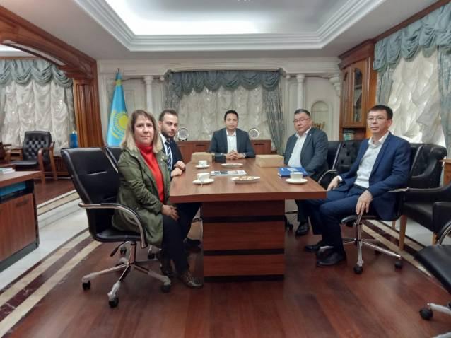 Yalova Makine İhtisas OSB'den Kazakistan Pazarı İçin Girişim